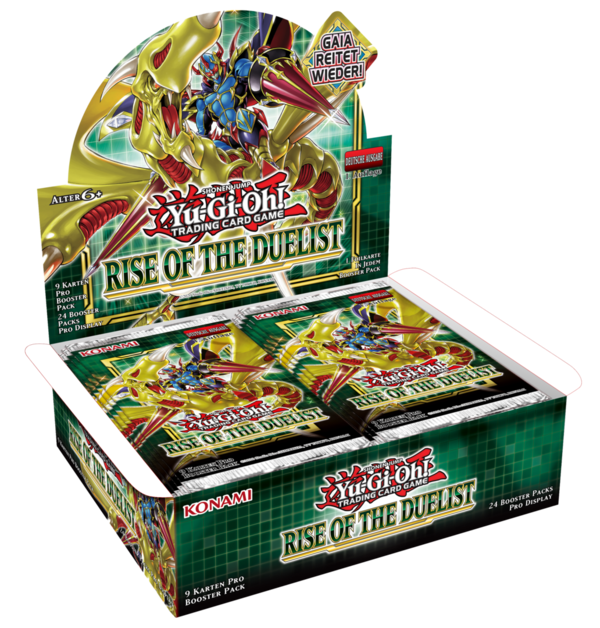 Yu-Gi-Oh! Display - 24 Booster: Rise of the Duelist (deutsch)