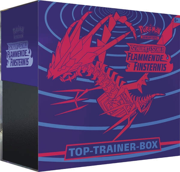 Pokemon Schwert und Schild: Top Trainer Box  Flammende Finsternis (deutsch)