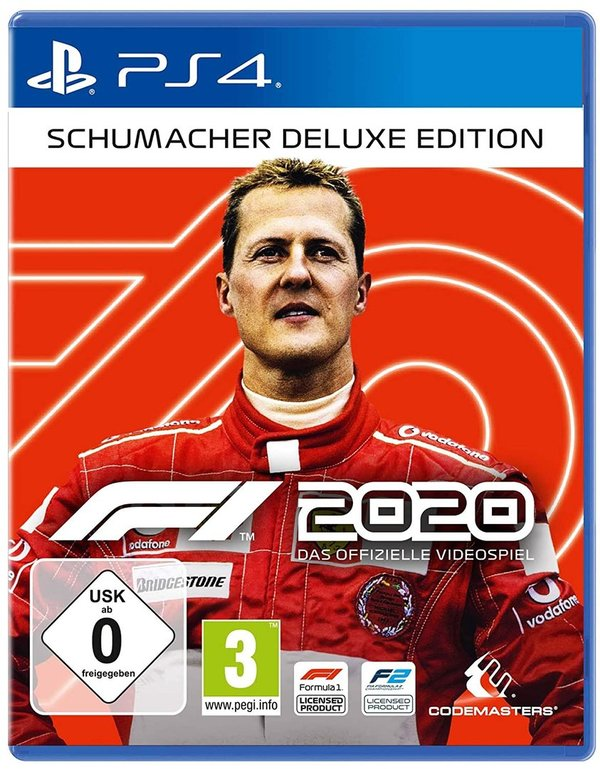 F1 2020 Schumacher Deluxe Edition - PlayStation 4