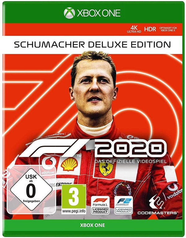 F1 2020 Schumacher Deluxe Edition - XBOX ONE