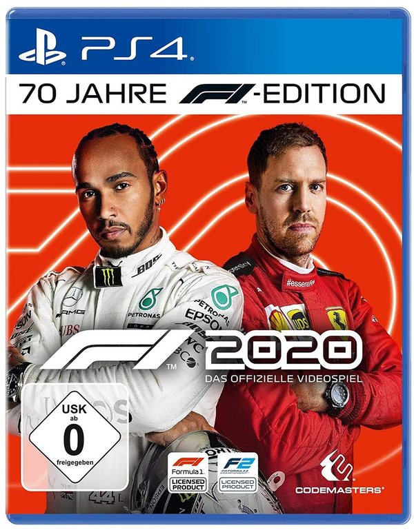 F1 2020 70 Jahre F1 Edition - PlayStation 4