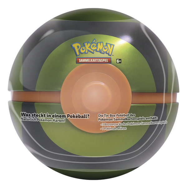 "Pokemon Poke Ball ""GRÜN"" Sommer Tin 2020 (deutsch)"