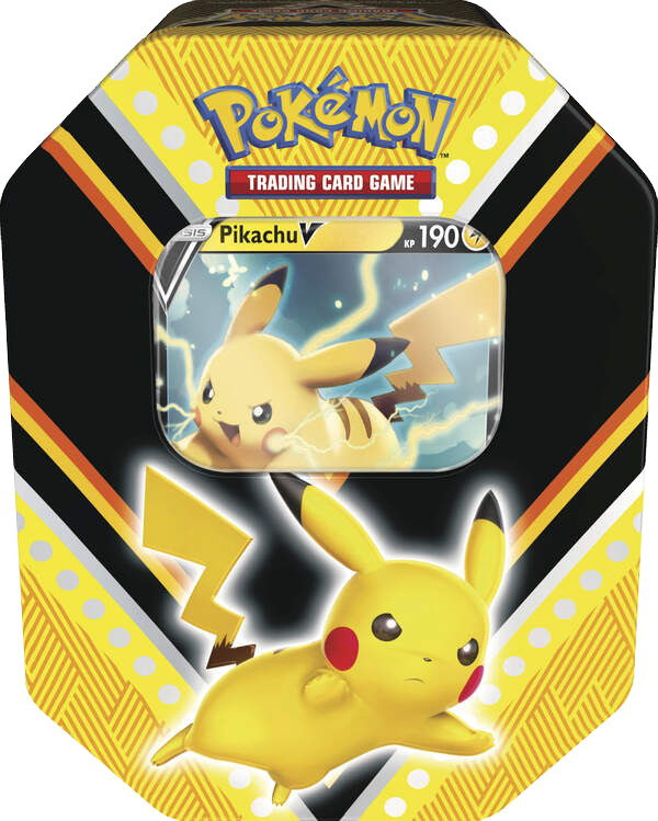 Pokemon Herbst Tin Box #88 Pikachu-V (deutsch)