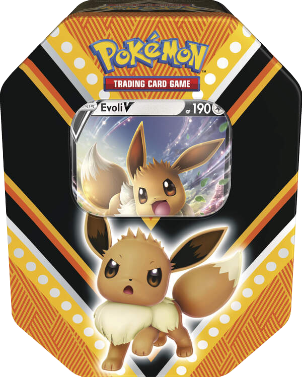 Pokemon Herbst Tin Box #89 Evoli-V (deutsch) VORVERKAUF