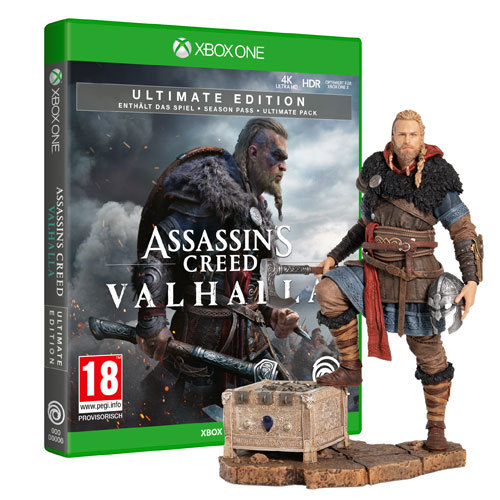 Assassin's Creed Valhalla Ultimate Edition + Eivor Wolfsmal Figur - XBOX ONE