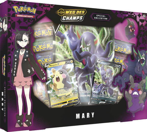 Pokémon Weg des Champs: Mary Spezial Kollektion (deutsch)