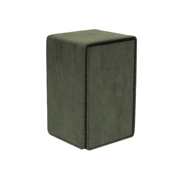 Emerald Suede Alcove Tower Deck Box