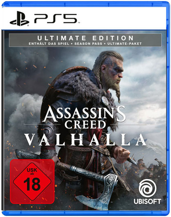 Assassins Creed Valhalla  Ultimate Edition - PlayStation 5