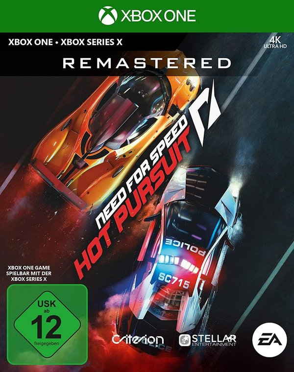 Need for Speed: Hot Pursuit Remastered - XBOX ONE erscheint am 6.11.2020
