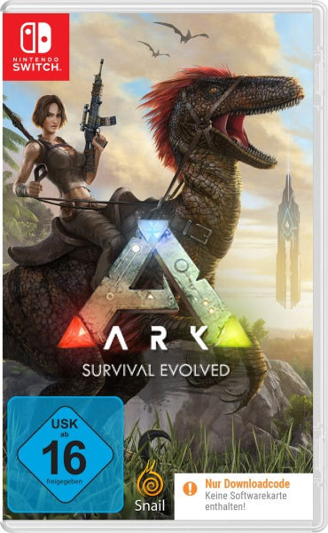 ARK: Survival Evolved (Code in a Box) - Switch