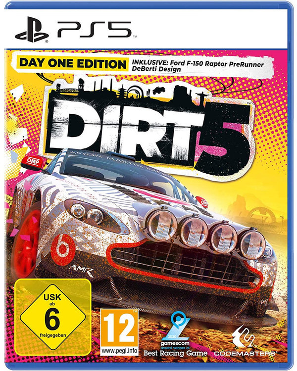 DIRT 5 - Day One Edition - PlayStation 5