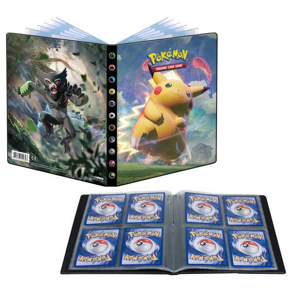 Pokemon Farbenschock 4-Pocket Portfolio