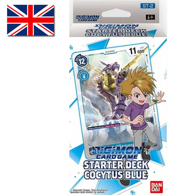 Digimon Card Game: Starter Deck Cocytus Blue | ST-2 (EN)