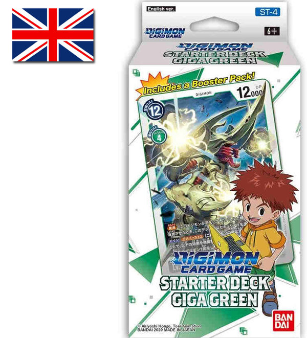 Digimon Card Game: Starter Deck Giga Green | ST-4 (EN)