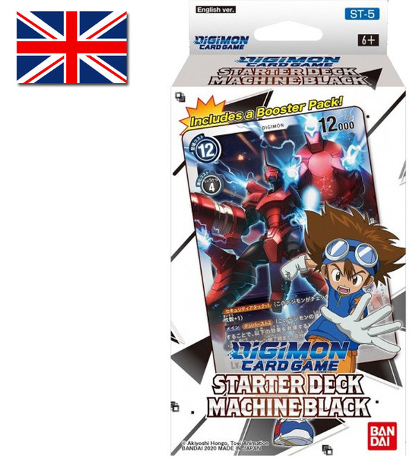 Digimon Card Game: Starter Deck Machine Black | ST-5 (EN)