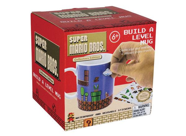 super mario becher zum selbst gestalten 300ml gameshop marli. Black Bedroom Furniture Sets. Home Design Ideas