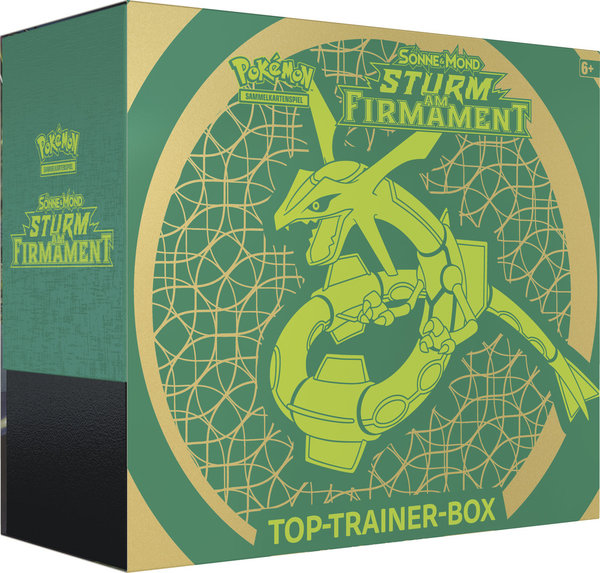 Pokemon Sturm am Firmament  - Top Trainer Box (deutsch)