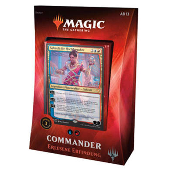 MTG Commander Decks 2018 - Erlesene Erfindung (Blue-Red) (Deutsch)