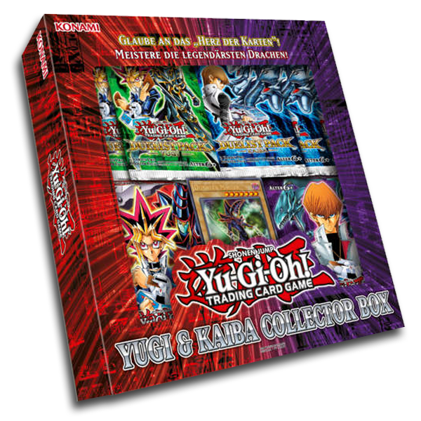 Yu-Gi-Oh! TRADING CARD GAME Yugi & Kaiba Collector Box