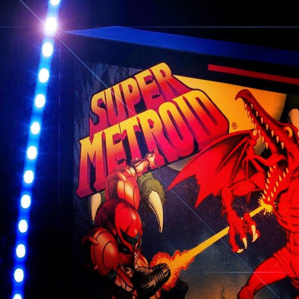 SNES Super Metroid Luminart