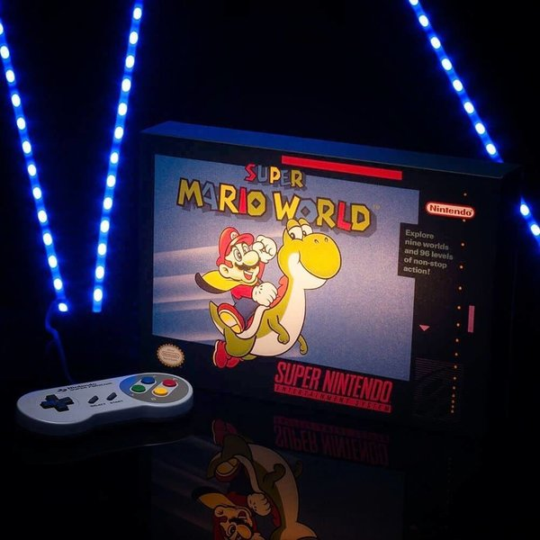 SNES Super Mario World Luminart