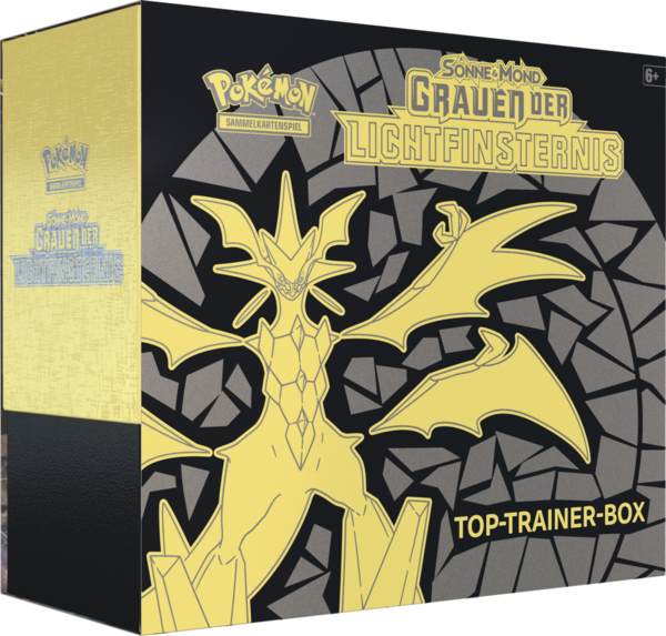 Pokemon Grauen der Lichtfinsternis - Top Trainer Box (Deutsch)