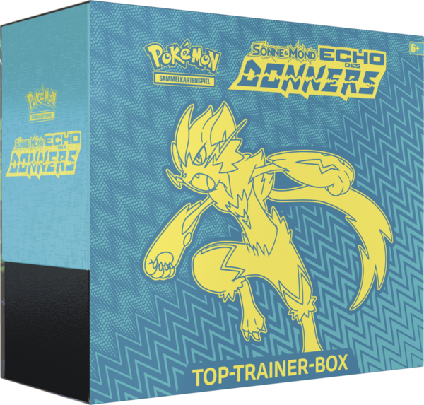 Pokemon Echo des Donners - Top Trainer Box (Deutsch)