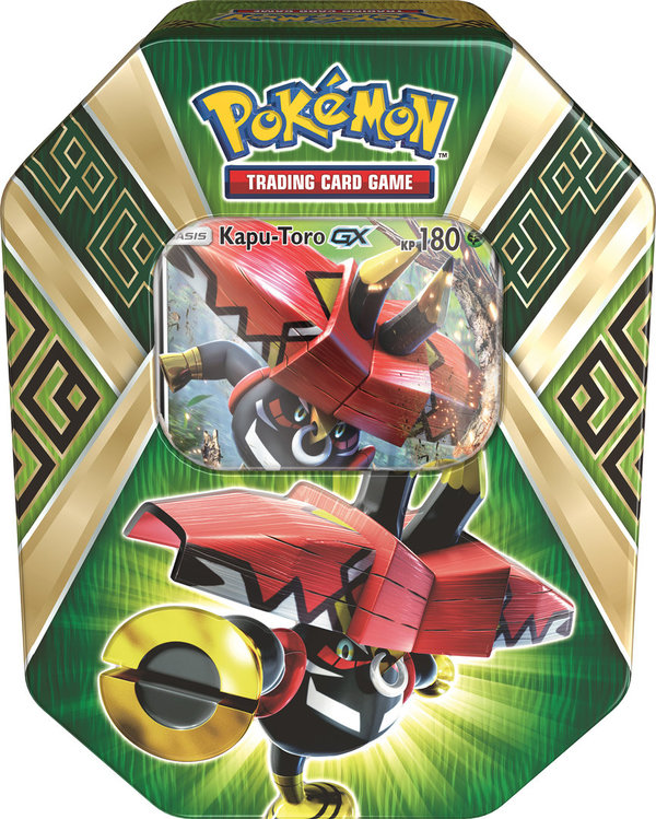 Pokemon Tin Box #66 Kapu-Toro GX (Deusch)