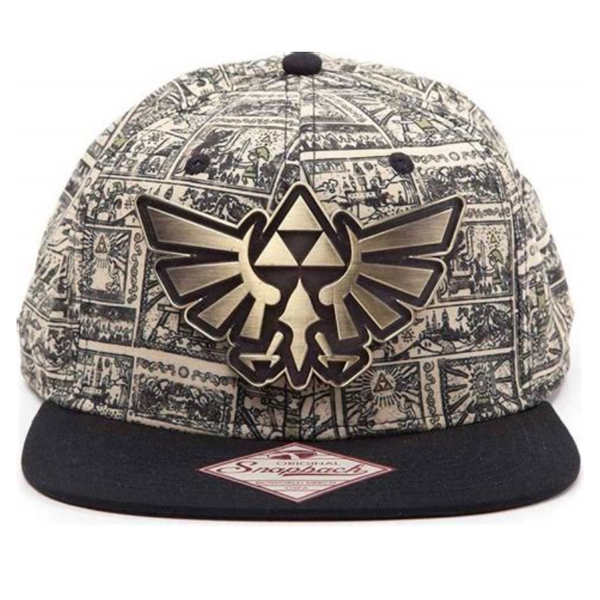 The Legend Of Zelda Zelda Storyboard Snapback-Cap beige