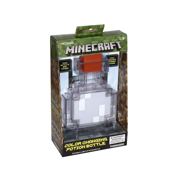 Minecraft LED Potion Bottle Zaubertrank Leuchte