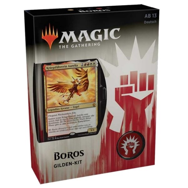 Magic the Gathering: Gilden von Ravnica Gilden Kit BOROS  (DE)