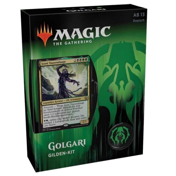 Magic the Gathering: Gilden von Ravnica Gilden Kit GOLGARI  (DE)