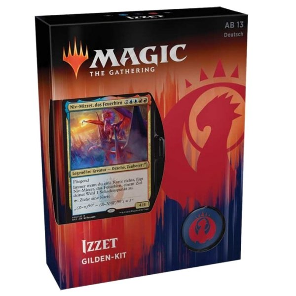 Magic the Gathering: Gilden von Ravnica Gilden Kit Izzet  (DE)