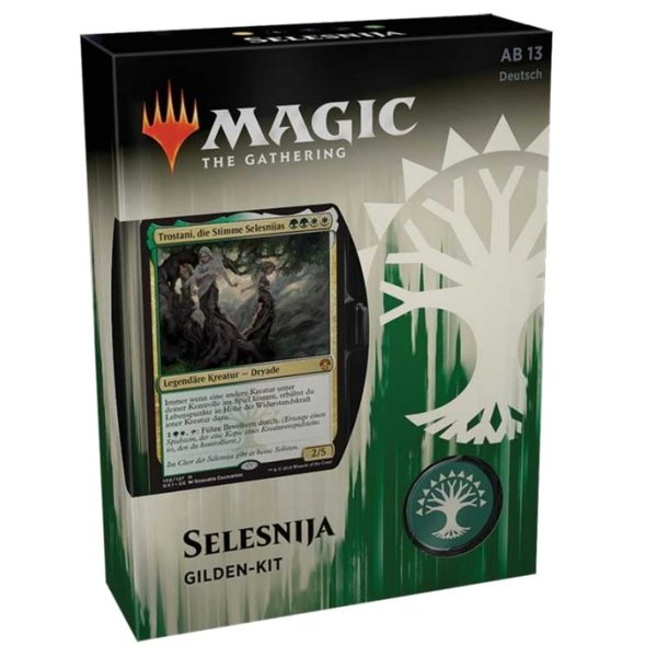 Magic the Gathering: Gilden von Ravnica Gilden Kit SELESNIJA  (DE)