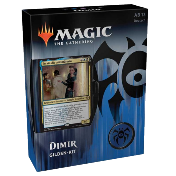 Magic the Gathering: Gilden von Ravnica Gilden Kit DIMIR  (DE)