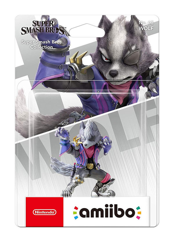 amiibo Figur Super Smash Bros. Collection Wolf