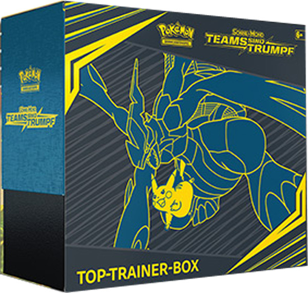 Pokemon Teams sind Trumpf  - Top Trainer Box (deutsch)