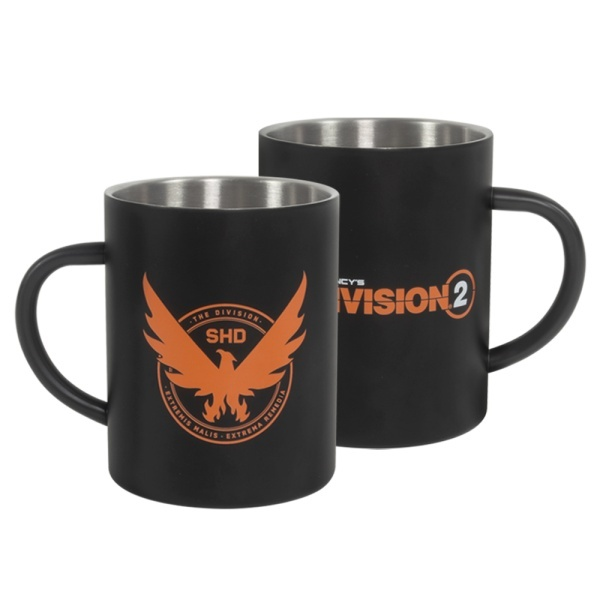 The Division 2 Phoenix Steel Mug - GAMESHOP Marli