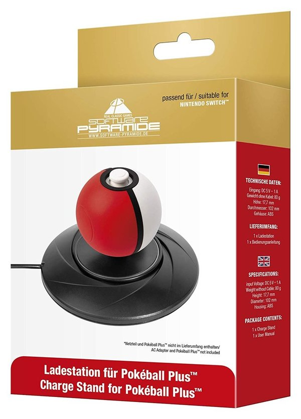 Controller-Ladestation Nintendo Switch Pokeball Plus: Ladestation