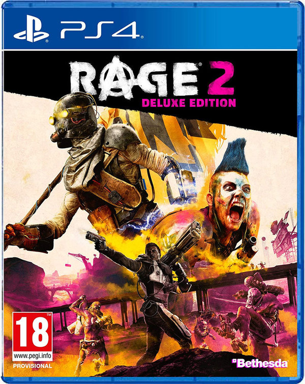 RAGE 2 DELUXE EDITION  (PEGI - AT) [PlayStation 4]