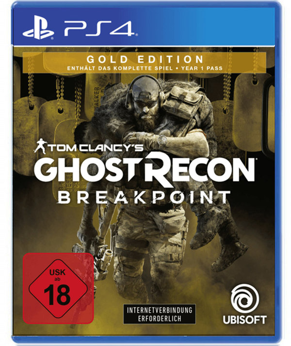 Tom Clancy's Ghost Recon Breakpoint Gold Edition - PlayStation 4
