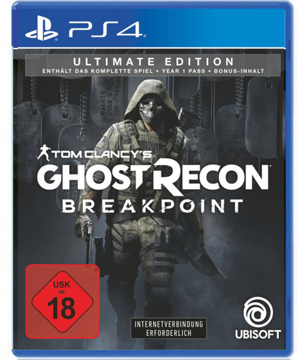 Tom Clancy's Ghost Recon Breakpoint Ultimate Edition -  PlayStation 4