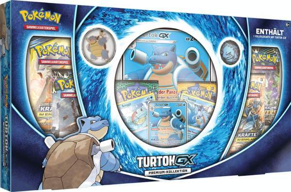 Pokemon Turtok-GX Premium Kollektion (deutsch) VORVERKAUF