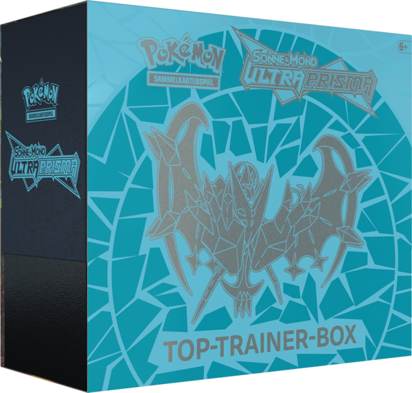 Pokemon Ultra Prisma Morgenschwingen Necrozma - Top Trainer Box (Deutsch)