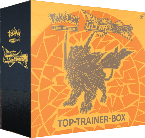 Pokemon Ultra Prisma - Top Trainer Box- Necrozma (Deutsch)