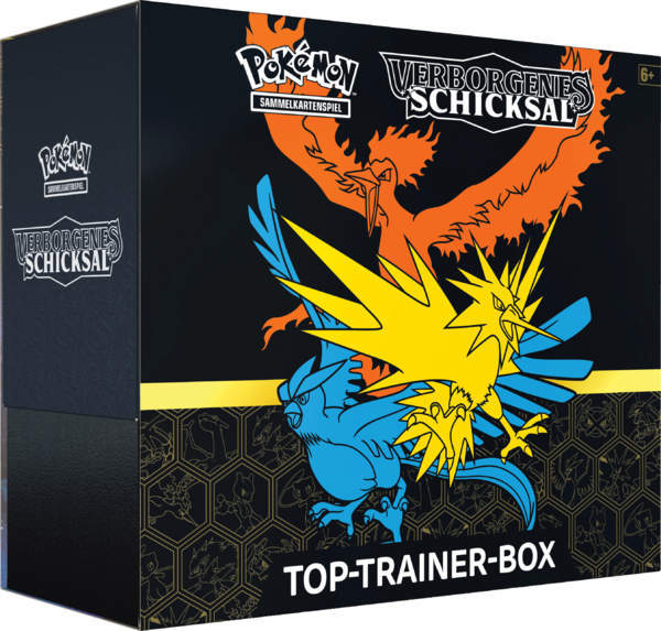 Pokemon Verborgenes Schicksal - Elite  Top Trainer Box  (Deutsch) - AUSVERKAUFT