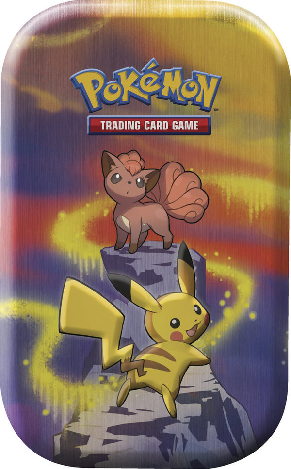 Pokemon Kanto-Stärke Mini Tin Box Pikachu / Vulpix (deutsch)